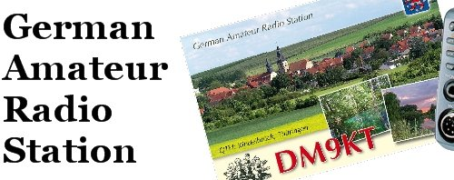 Germany Amateur Radio Station DM9KT